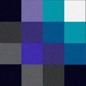 6th Sixth Dr Colin Baker lapel Pattern