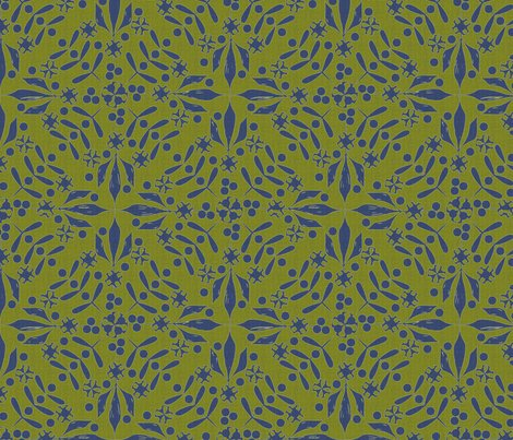 Leaves_and_berries_by_4_twist_blue_olive_canvas_shop_preview
