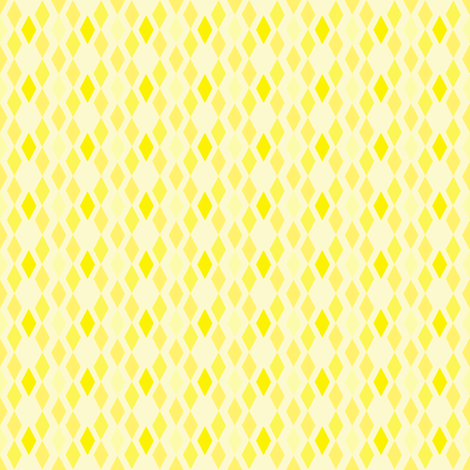 Yellow Diamonds 2 fabric by mahrial on Spoonflower - custom fabric
