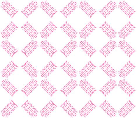 TDamaskPink4 fabric by morrigoon on Spoonflower - custom fabric