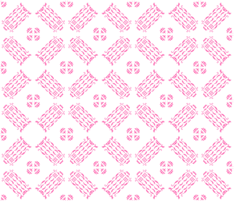 TDamaskPink5 fabric by morrigoon on Spoonflower - custom fabric