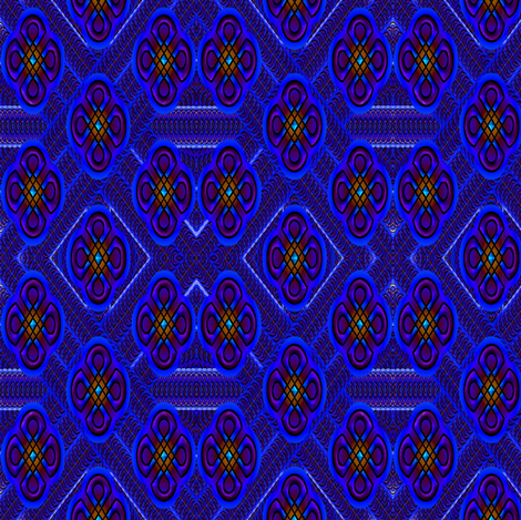 slid rangoli 2 fabric by y-knot_designs on Spoonflower - custom fabric
