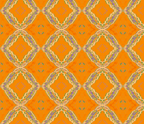 Ode to Orange fabric by susaninparis on Spoonflower - custom fabric