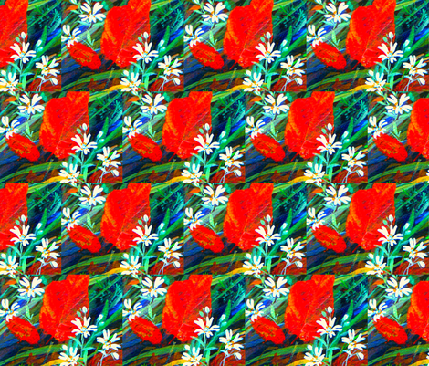 Fresh fields 2. fabric by magicalumbrella on Spoonflower - custom fabric