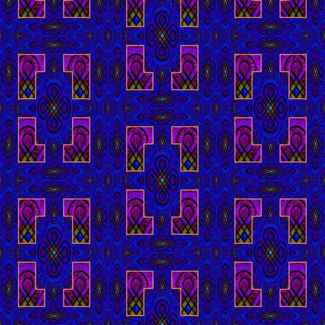 rangoli framed fabric by y-knot_designs on Spoonflower - custom fabric
