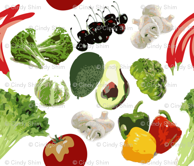 Fresh Vegetables & Fruits