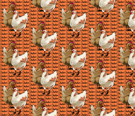 chicken_whimsy fabric by dogdaze_ on Spoonflower - custom fabric