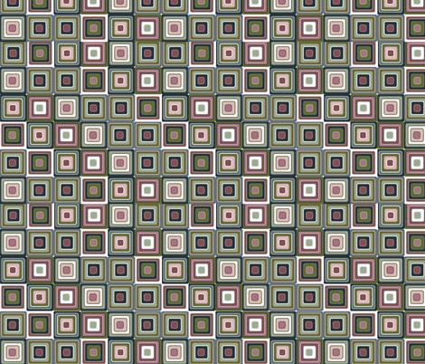 mosaic green fabric by kociara on Spoonflower - custom fabric