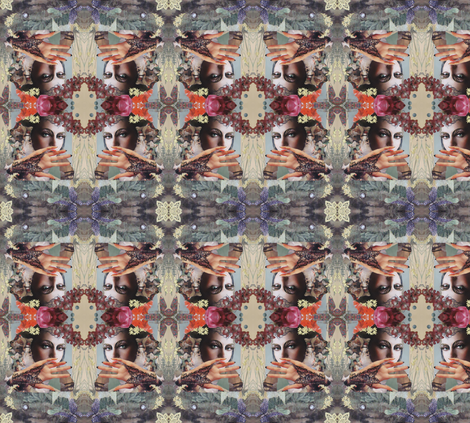 Orchids_and_Butterfiles fabric by rosalind_san_felipe on Spoonflower - custom fabric