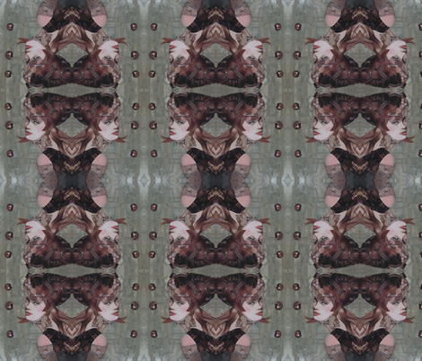 Taupe fabric by rosalind_san_felipe on Spoonflower - custom fabric