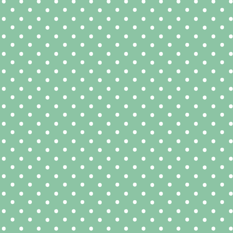 Pin Dots Mint fabric by pearl&phire on Spoonflower - custom fabric