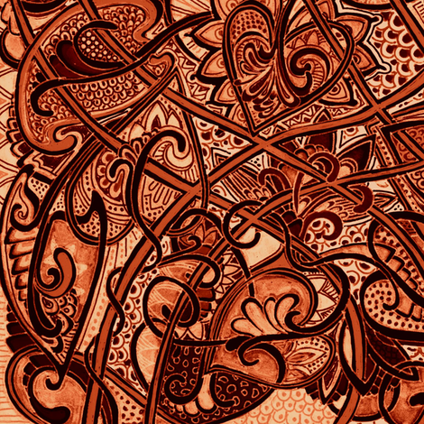 Unique Pseudo Batik fabric by edsel2084 on Spoonflower - custom fabric