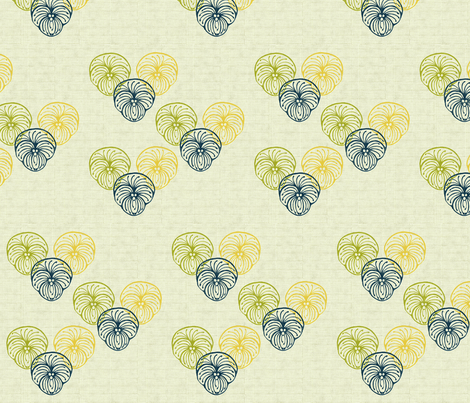 pansy (abstract) fabric by kirpa on Spoonflower - custom fabric