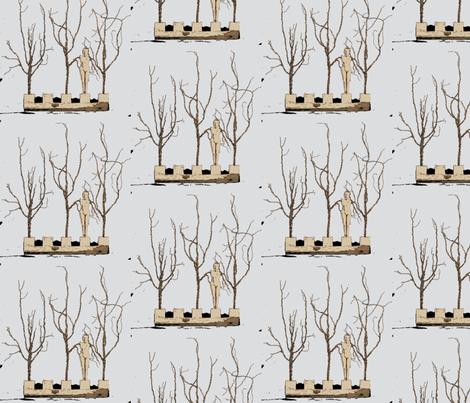 Winter fabric by nancy_martino on Spoonflower - custom fabric