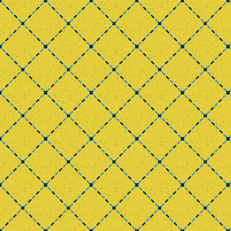 Stitch diamonds fabric by kirpa on Spoonflower - custom fabric