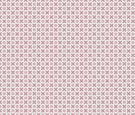 Creamy Pink X and O fabric by peacefuldreams on Spoonflower - custom fabric