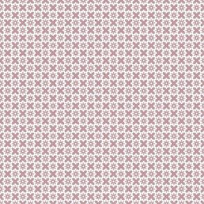 Creamy Pink X and O