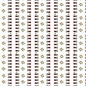 Alsaciennes et roses