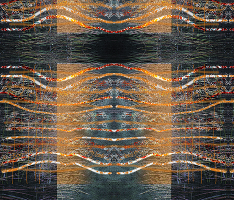 autumn in lines fabric by ekeskleurdesign on Spoonflower - custom fabric