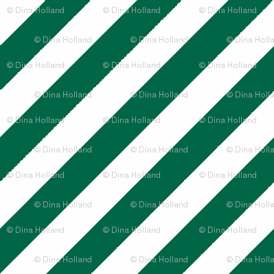 Diagonal Stripe Malachite