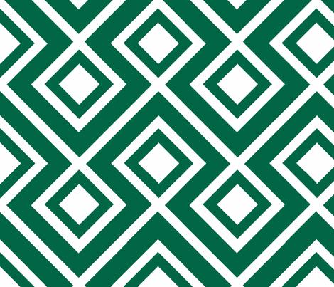 Connect the Blocks Malachite fabric by honey&fitz on Spoonflower - custom fabric