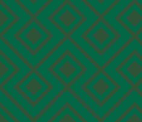 Connect the Blocks Malachite Two Tone fabric by honey&fitz on Spoonflower - custom fabric