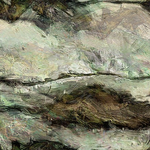 Painting - Whitewater