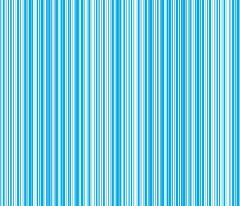 Mint Blue Candy Stripe fabric by carol-anne_ryce-paul_-_urbanthropologie on Spoonflower - custom fabric