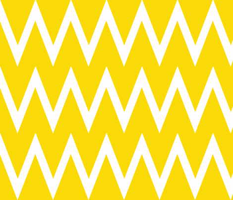 Tall Chevron Sunshine fabric by honey&fitz on Spoonflower - custom fabric