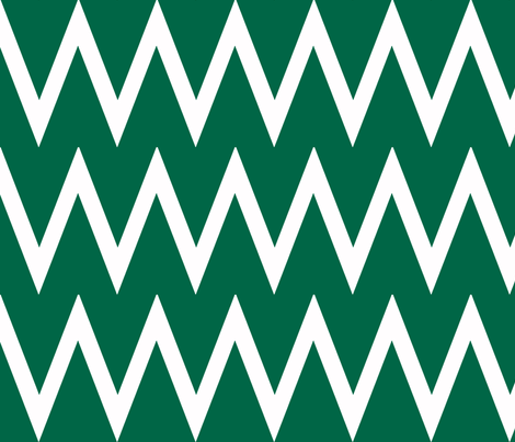 Tall Chevron Malachite fabric by honey&fitz on Spoonflower - custom fabric