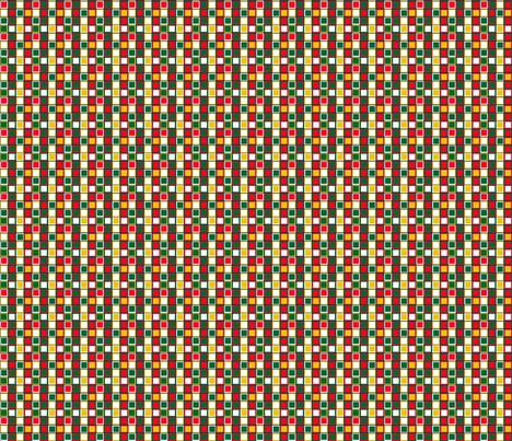 Base carrés de Noël fabric by manureva on Spoonflower - custom fabric