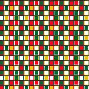 Base carrés de Noël