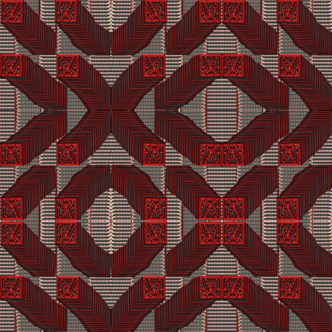 stacks Xs and Os fabric by y-knot_designs on Spoonflower - custom fabric