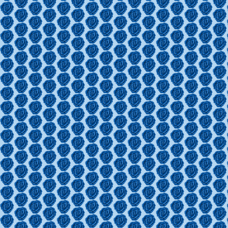 Rose Blue fabric by mahrial on Spoonflower - custom fabric