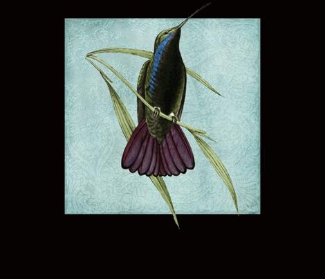 Hummingbird fabric by peacefuldreams on Spoonflower - custom fabric