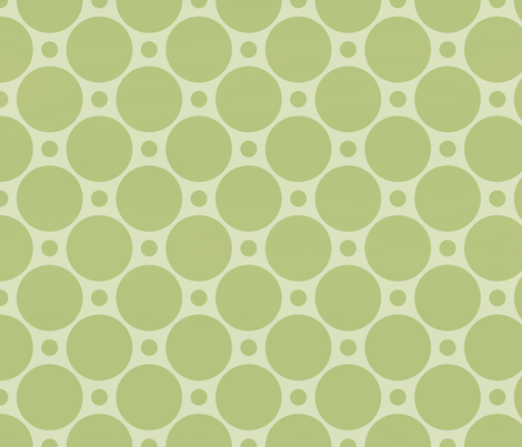 Lime Dots fabric by peacefuldreams on Spoonflower - custom fabric