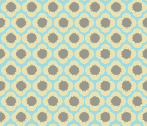 Orla cream  fabric by designedtoat on Spoonflower - custom fabric