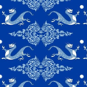 Year of the Dragon Royal Blue