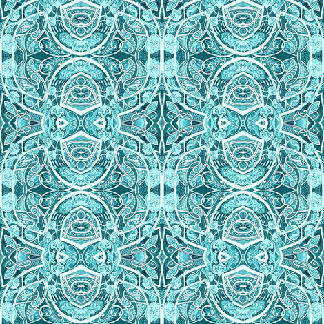 In the Loop fabric by edsel2084 on Spoonflower - custom fabric