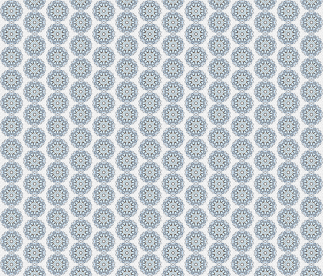 snowflake_11 fabric by peegee on Spoonflower - custom fabric