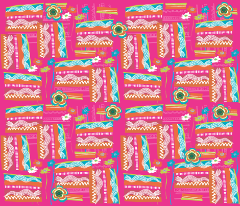 Monty the Python  fabric by deeniespoonflower on Spoonflower - custom fabric
