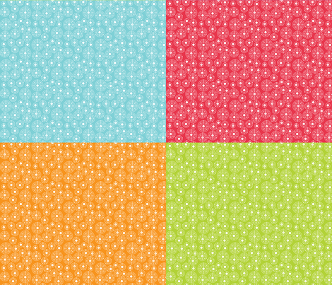 Periodic Shells FQ Assortment fabric by robyriker on Spoonflower - custom fabric