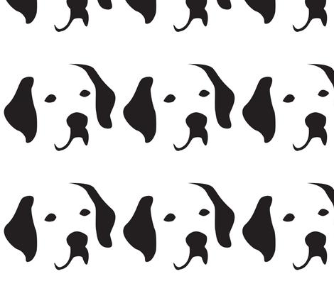 Labrador Large fabric by mariafaithgarcia on Spoonflower - custom fabric