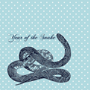 Year of the Snake Polka Dot