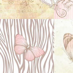Sweet Pink Butterflies