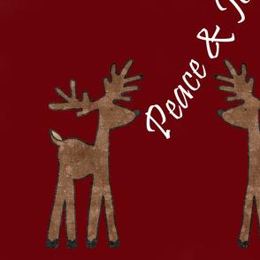 Peace and Joy Reindeer
