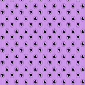Smaller Purple Cameo Stripes