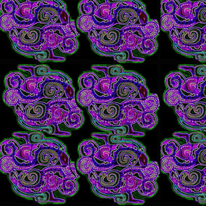 mayan_snakes_glowing