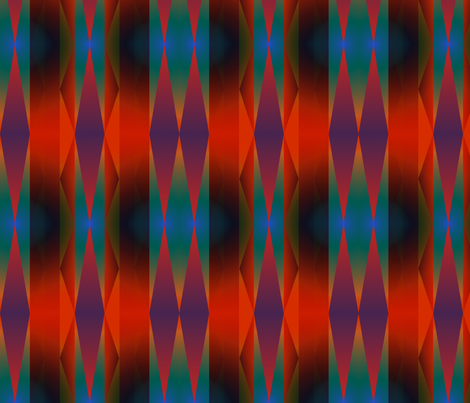 striped daggers fabric by y-knot_designs on Spoonflower - custom fabric