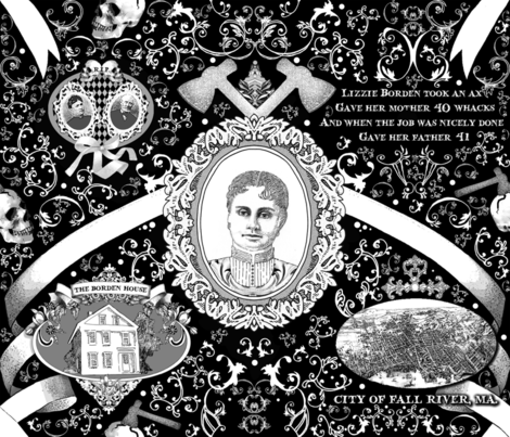 Lizzie Borden Overkill fabric by golders on Spoonflower - custom fabric